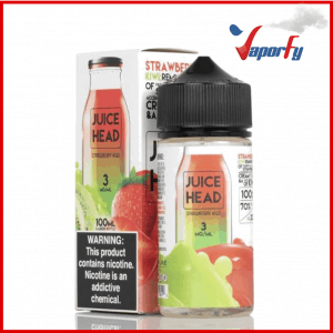 STRAWBERRY KIWI - JUICE HEAD E-LIQUID - 100ML